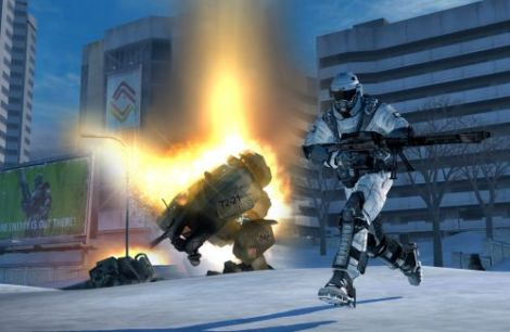 Новые скрины Battlefield 2142: Northern Strike
