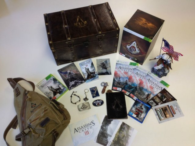 +Assassin's Creed 3 Ultimate special edition – только на аукционе